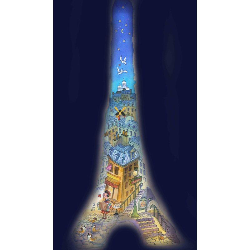 jean-martial-dubois_editions_en_carton_tour_eiffel_paris_night_nuit_aquarelle-art07b